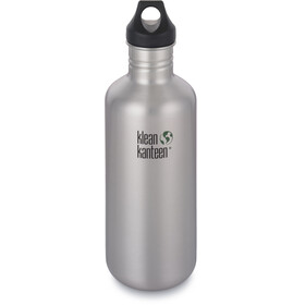 Klean Kanteen Classic Bottle Loop Cap 1182ml Brushed Stainless